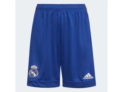 Real Madrid ude shorts 2021/22 - børn - fra adidas