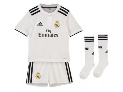Real Madrid hjemme minisæt 2018/19 - små børn