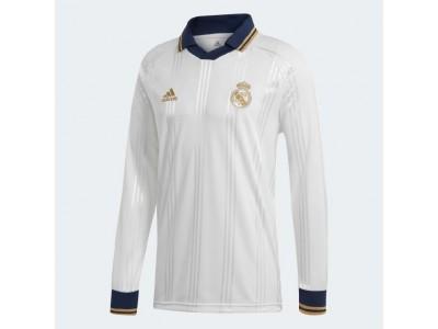 Real Madrid icons retro trøje - hvid