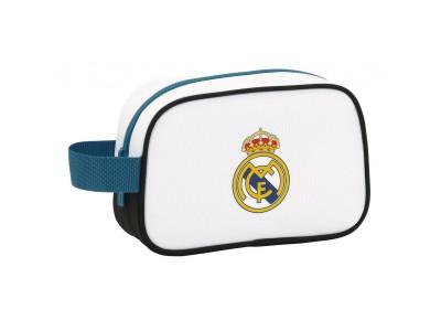 Real Madrid toilettaske - hvid - history
