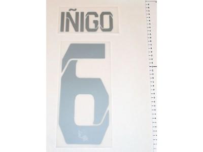 Real Sociedad hjemme - ude tryk 13/14 - Inigo 6