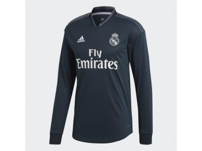 Real Madrid ude trøje L/Æ 2018/19 - børn