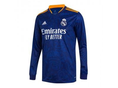 Real Madrid ude trøje L/Æ 2021/22 - fra adidas