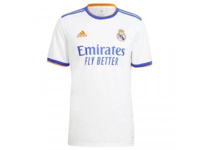 Real Madrid hjemme trøje 2021/22 - børn - fra adidas