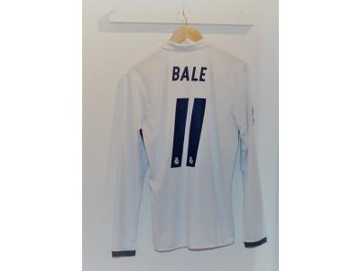 Real Madrid hjemme trøje L/S 16/17 - Bale 11