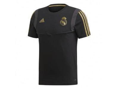 Real Madrid t-shirt 2019/20 - sort-guld