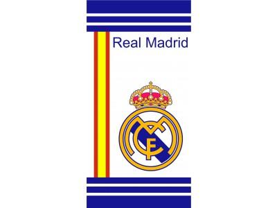 Real Madrid håndklæde - hvid-blå