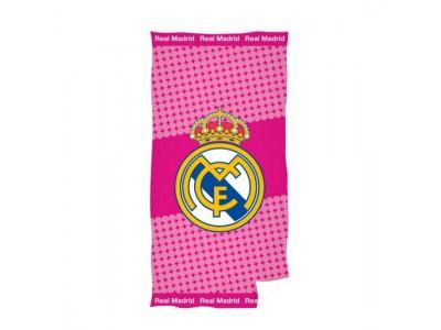 Real Madrid håndklæde pink