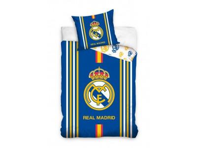 Real Madrid sengetøj - blå - gul