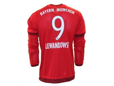 FC Bayern hjemme trøje L/Æ - Lewandowski 9
