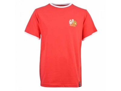 Manchester United 12th Man T-Shirt - Red/White Ringer