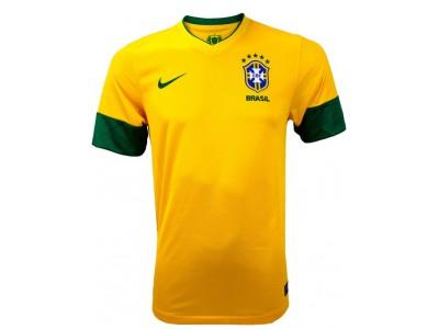 Brasilien hjemme trøje 2013-14 replica