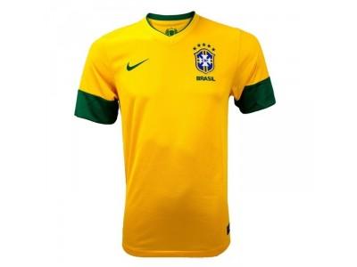 Brasilien hjemme trøje 2013-14