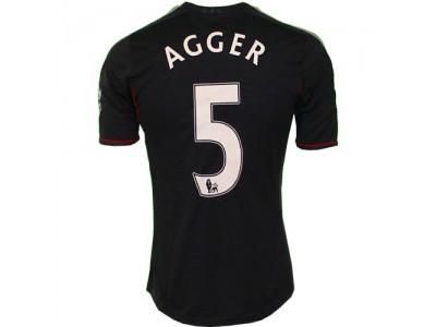 Liverpool udetrøje 2011/12 - Agger 5