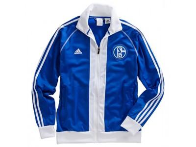 Schalke 04 track jakke 2012/13