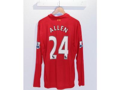 Liverpool hjemme trøje L/Æ 2012/13 - ALLEN 24