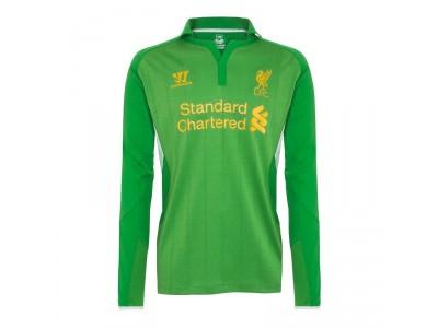 Liverpool hjemme målmandstrøje 2012/13 - lange ærmer