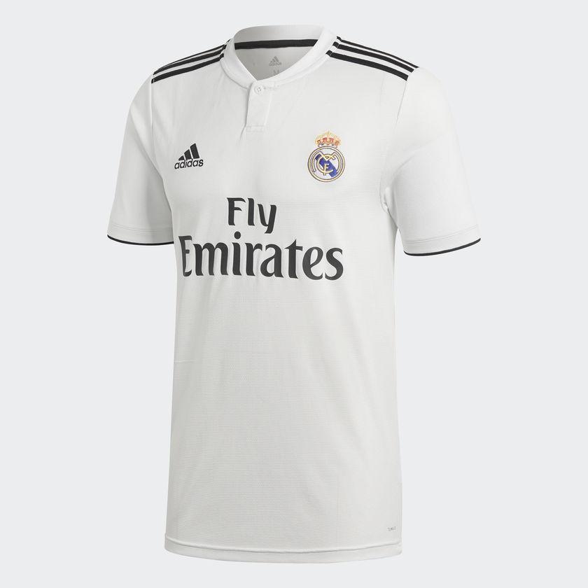 Image of   Real Madrid home jersey 2018/19 - La Liga-S