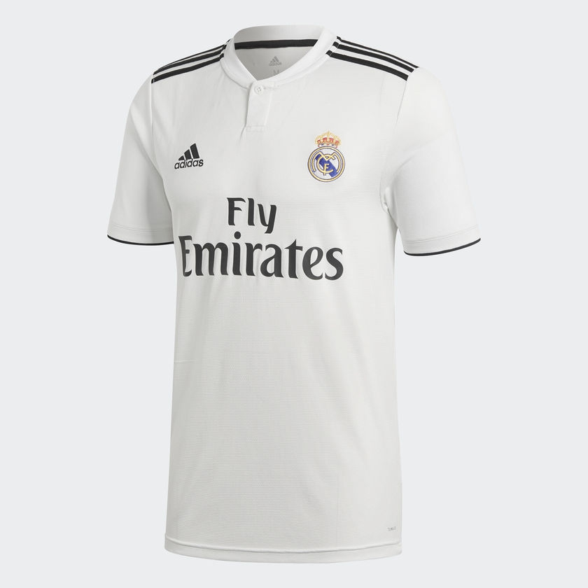 Image of   Real Madrid home jersey 2018/19 - UCL-L