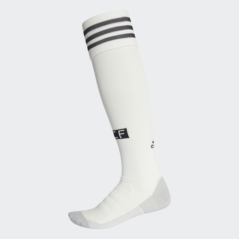 Image of   2018-2019 Real Madrid Adidas Home Socks (White)-5 | 46-48