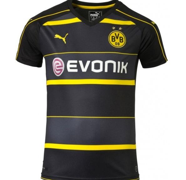 Image of   Dortmund away jersey 2016/17-L