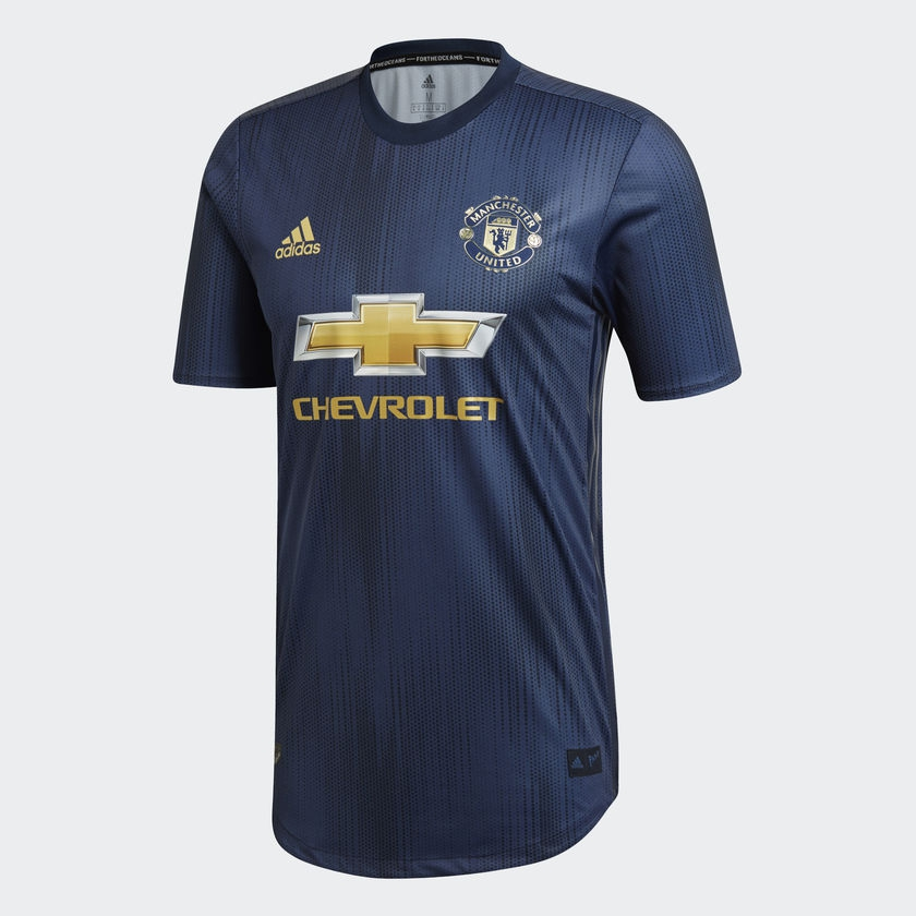 Image of   Manchester United third jersey 2018/19 - authentic-L