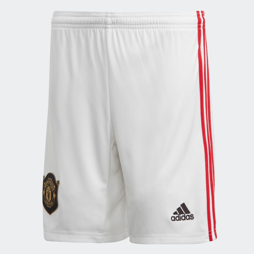Image of Manchester United home shorts 2019/20 - youth-164