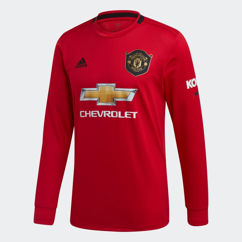 Image of   Manchester United home jersey L/S 2019/20-S