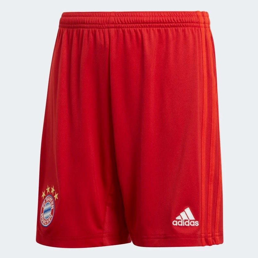 Billede af Adidas, FC Bayern Munich home shorts 2019/20 - youth-152