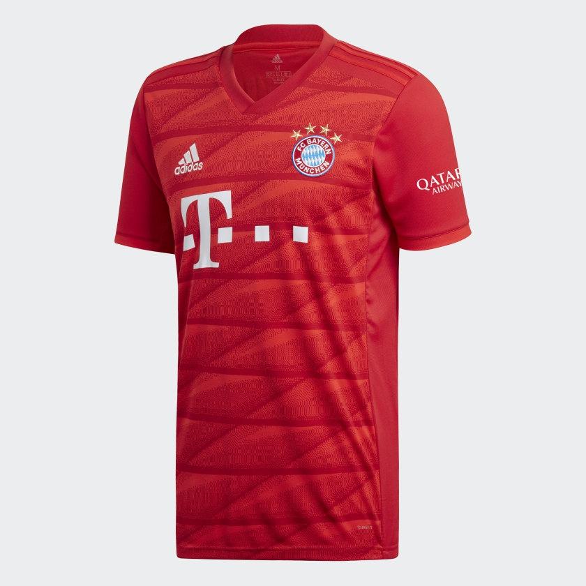 Billede af Adidas, FC Bayern Munich home jersey 2019/20 - youth-140