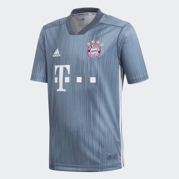 Image of   FC Bayern Munich third jersey 2018/19 - youth-128