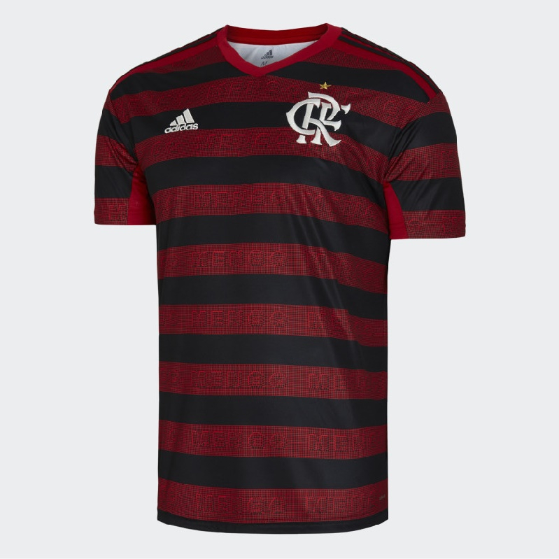Image of Flamengo home jersey 2019/20 - CRF-XXL