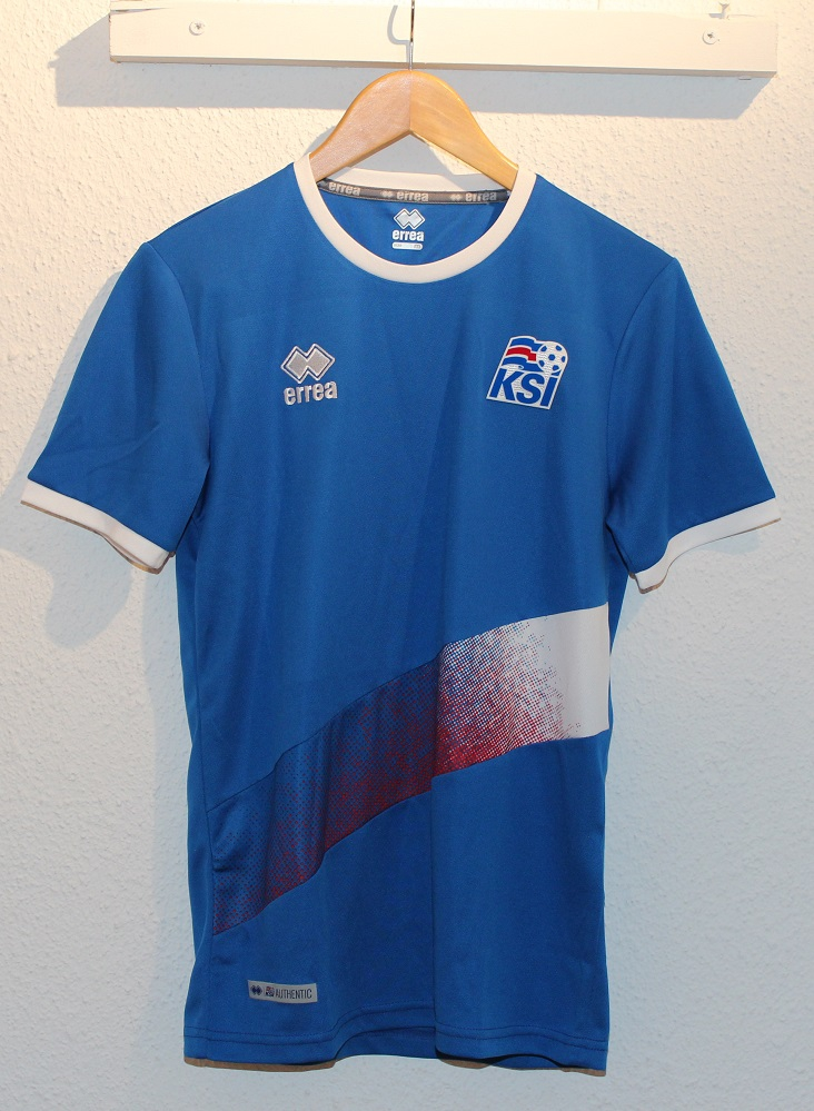 Iceland players training shirt World Cup 2018-XL