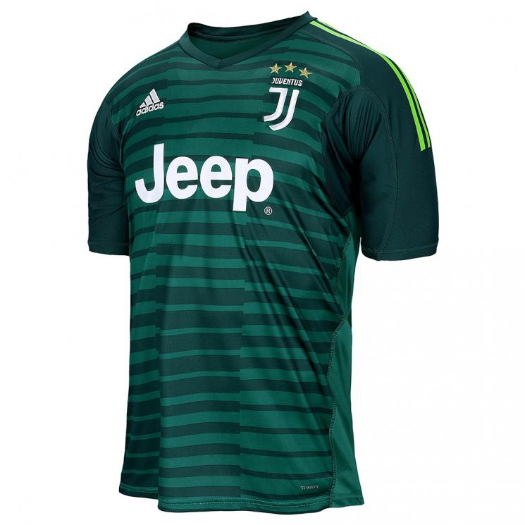 Image of   2018-2019 Juventus Home Adidas Goalkeeper Shirt-S