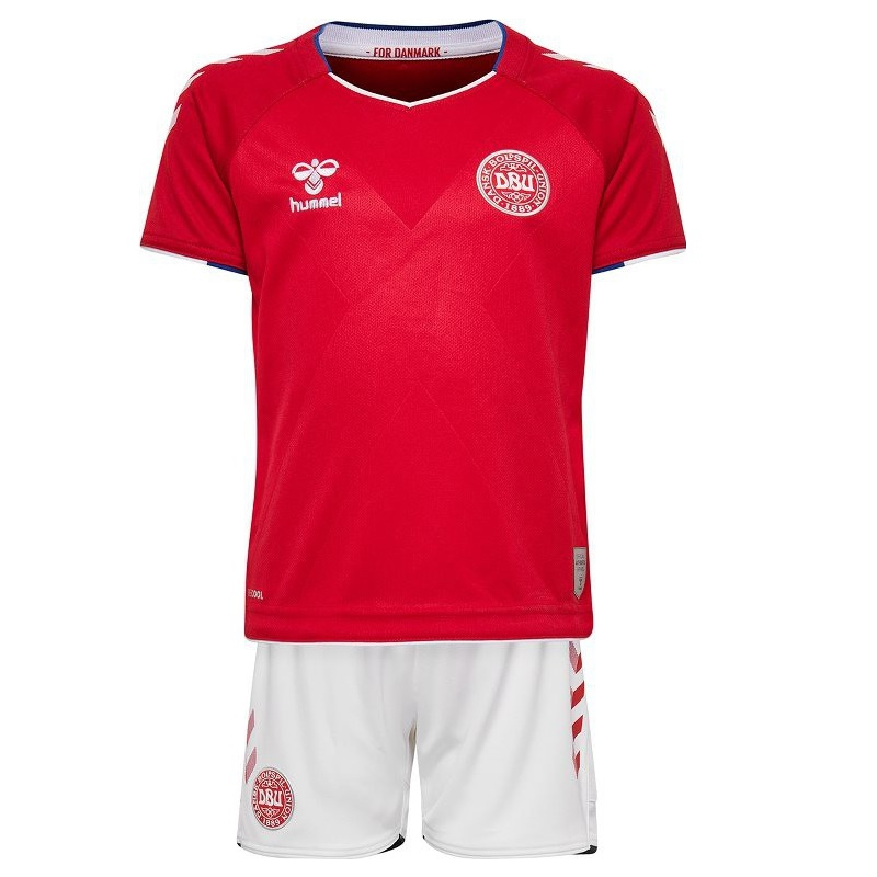 Image of   Denmark home mini kit World Cup 2018 - little boys-104
