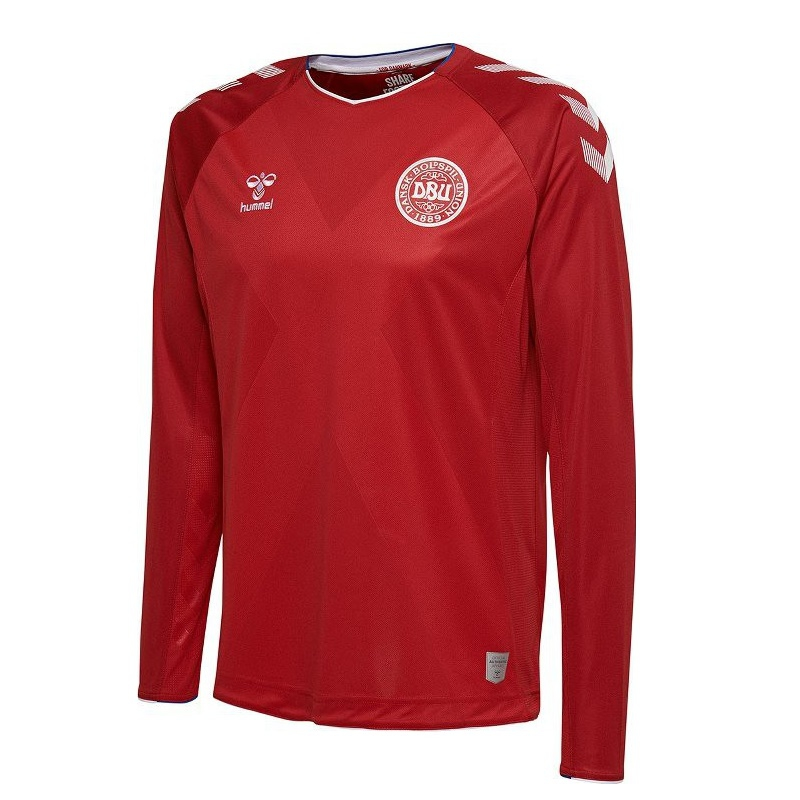 Image of   Denmark home jersey L/S World Cup 2018-3XL