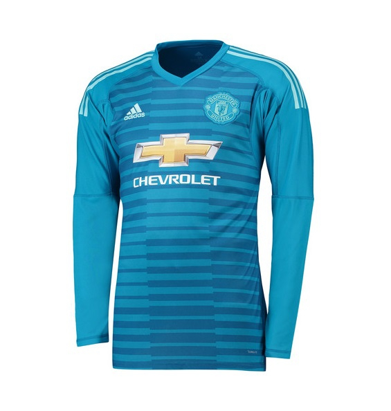 Image of   Manchester United goalie away jersey 2018/19 - youth-128