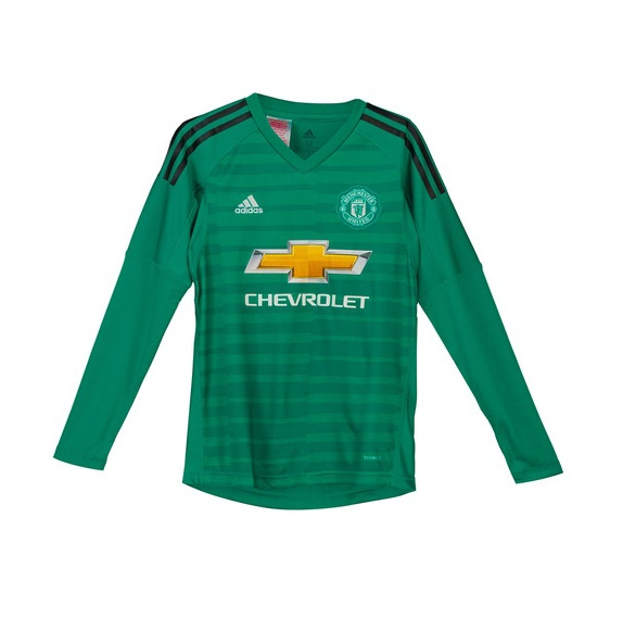 Image of   Manchester United goalie jersey 2018/19 - youth-176