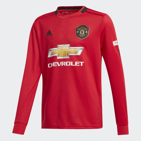 Image of   Manchester United home jersey L/S 2019/20 - youth-152