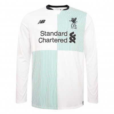 2017-2018 Liverpool Away Long Sleeve Shirt size Small