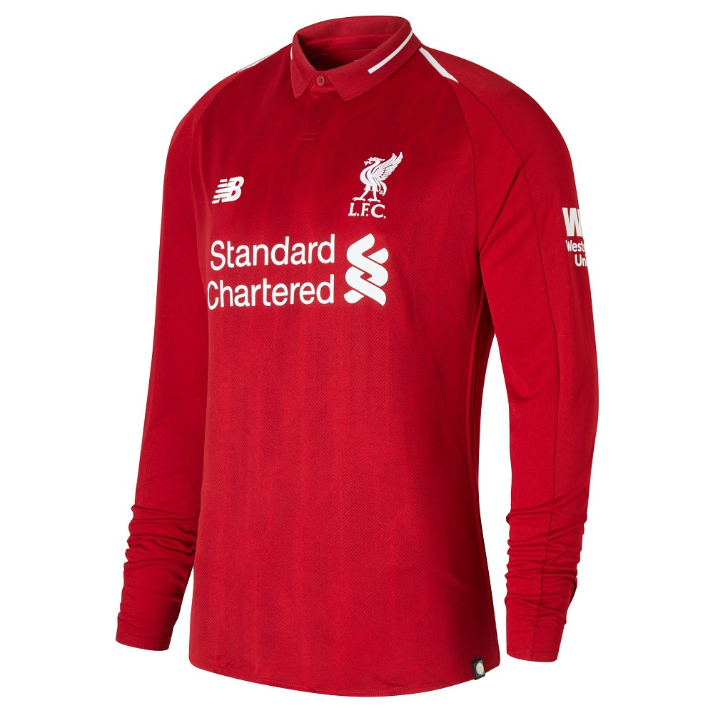 Liverpool home jersey Long Sleeve 2018/19 - youth-LB