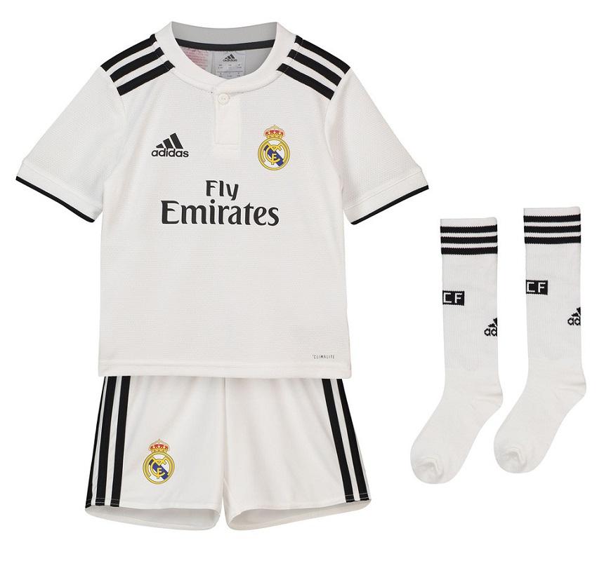 Real Madrid home minikit 2018/19 - little boys-92