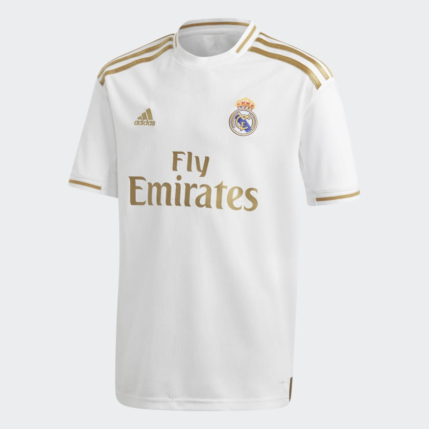 Image of   Real Madrid home jersey 2019/20 - La Liga - youth-128