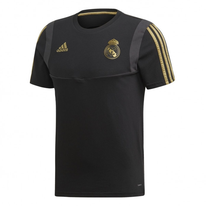 Image of   Real Madrid tee 2019/20 - black - gold-8