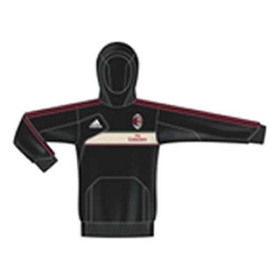Image of   AC Milan autentisk hoodie trøje 2012/13-164