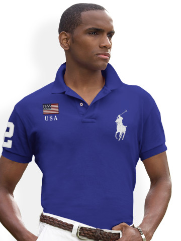 Polo shirt Ralph Lauren med flag