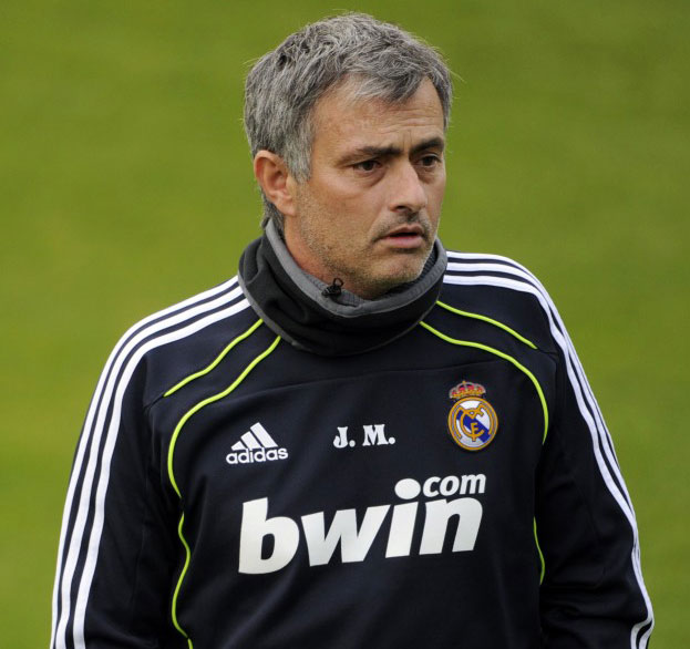 Real Madrid sweat top Jose Mourinho JM