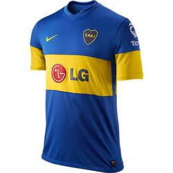 d3f1fb3199d Boca Juniors hjemme trøje 11-12