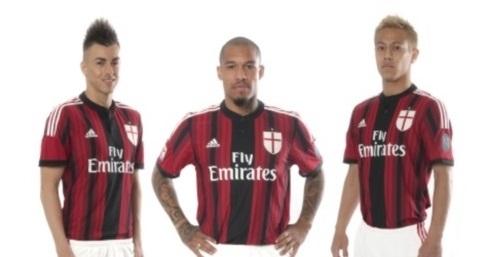 Ny AC Milan hjemme trøje 2014/15