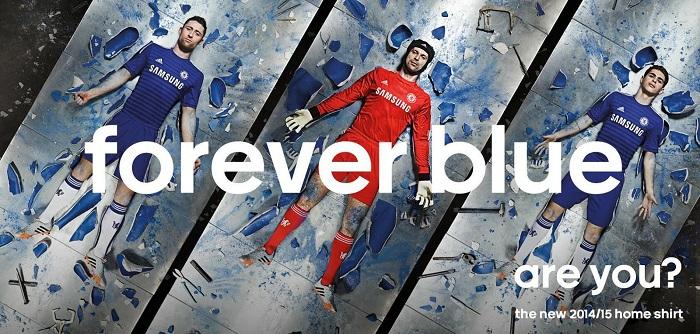 Ny Chelsea hjemme trøje 2014/15